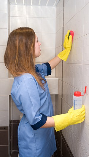 women-cleaning-bathroom